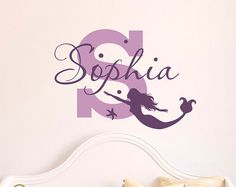 Mermaid Wall Decal   Mermaid Decal   Nursery Mermaid   Girls Room Decal    Mermaid Decor   Mermaid Wall Art | Pinterest | Mermaid Wall Decals, Wall  Decals ...