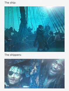 The ship vs. the shippers