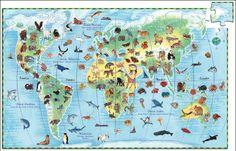 Djeco puzzel dieren van de wereld 100 stuks