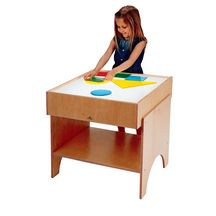 The Whitney Brothers Small Light Table is great for learning about shapes and color combinations. The tops of all of the light tables are made with safe acrylic. There's plenty of room below for storing all sorts of supplies. Classroom Stools, Classroom Furniture, Library Furniture, Light Table For Kids, Truck Detailing, Discount School Supply, All Of The Lights, Repurposed Items, Learning Spaces
