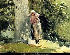 Weary - Winslow Homer - www.winslow-homer.com
