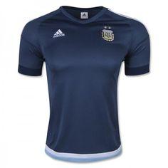 Argentina 2016 Udebanetrøje Kort ærmer