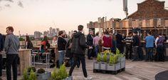 Bussey Building rooftop bar, Peckham