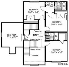 1000 images about house design on pinterest jack and Jack and jill house plans