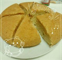 牛乳&卵なし☆炊飯器でさつまいもケーキ