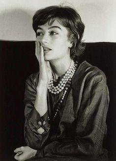 Anouk Aimee.Paris1962