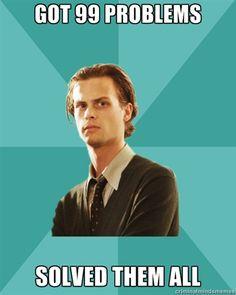 Genius Spencer Reid ... I love Criminal Minds!
