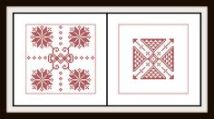 Another recent biscornu pattern I created. Check it out on Etsy as well! Bliss of Birds PDF Cross Stitch Pattern: Saxon by BlissOfBirds