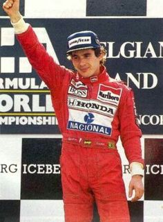 View high-resolution motorsport photography at Belgian GP from an extensive 1991 Formula 1 racing archive. Aryton Senna, Honda, Belgian Grand Prix, F1 Drivers, Formula One, First World, Race Cars, Harley Davidson, Champion