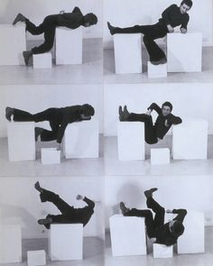 Pose Work for Plinths 3, 1971 by Bruce McLean