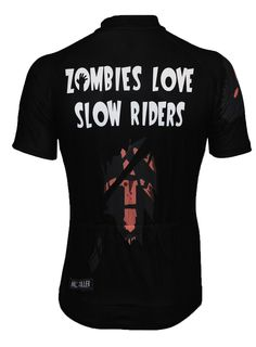 Zombies Love Slow Riders Cycling Jersey