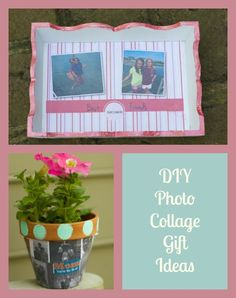DIY Photo Collage Gift Ideas for Mothers Day and Grads http://stayingclosetohome.com/collage-photo-gift-ideas-for-mothers-day-grads/