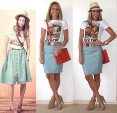 Creating looks straight from pictures. Seems like an obvious idea!    http://4.bp.blogspot.com/-yeyB-6L72D0/TgFqCKw7-ZI/AAAAAAAACEk/iNy0VjkVq4I/s1600/Madwell+green+skirt.png