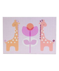 Look what I found on #zulily! Lolli Living Surina Giraffes Wall Décor - Set of Two by Lolli Living #zulilyfinds