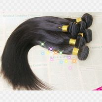 Eurasian virgin hair extension straight 3pc  30 INCHES 100 GRAMS EACH BUNDLE  NATURAL BLACK **ALL SALES ARE FINAL**