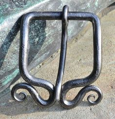 Steel Hand Forged Belt Buckle