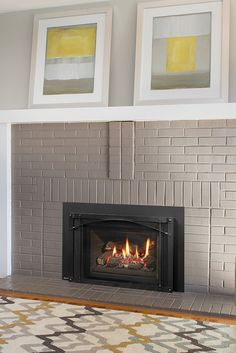 Quickly and easily replace your wood fireplace with a new gas insert. Say goodbye to wood and hello to gas! Fireplace Inserts, Wood Fireplace, Gas Insert, Gas Fireplaces, Traditional Fireplace, Old Wood, Regency, Firewood, Living Room Designs