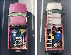 sleeping compartments for truckers   The Art of Traveling in Pickup Trucks