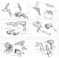 Sketchbook by Matt SEIBERT, via Behance