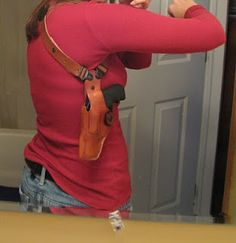 Great ideas and reviews on holsters for women who carry but don't always use or want to be limited to a purse...Survival kit ideas too; you never know when they'll come in handy!
