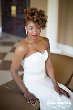 Click the image for details on Phylicia's wedding hair.