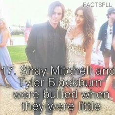 Pretty Little Liars - it just proves how victims can get anywhere in life!! I bet those bullies regret it all now...
