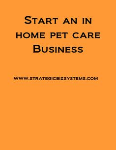 start a business, building a business, sustainable, strategy,pet care business