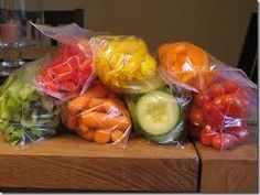Make Baggies of Sliced Veggies for Snacks on the Go    For more on this healthy eating tip, please visit Healthyformommies.com