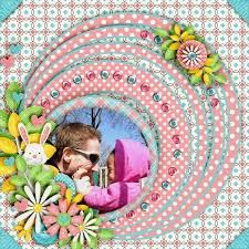 Image result for easter scrapbook layouts
