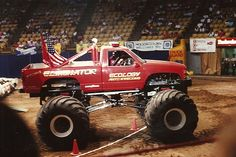 1991+%40+the+Inglewood+Fourm Truck Pulls, Ceramic Stool, Tractor Pulling, Chinese Ceramics, Yesterday And Today, Tractors, Old School, Monsters, Monster Trucks