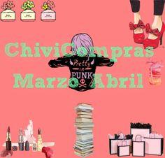 La Piecita de Chivi :  ChiviCompras de Marzo/Abril