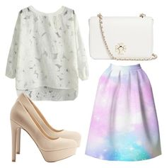 """""""Beautifulhalo #26"""" by evalentina92 ❤ liked on Polyvore featuring Charlotte Russe, Tory Burch and bhalo"""