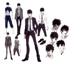The Official Profiling Book - Psycho-Pass Wiki Me Me Me Anime, Anime Guys, Eye Expressions, Psycho Pass, 3d Drawings, Character Sheet, Manga Characters, Awesome Anime, Character Design Inspiration