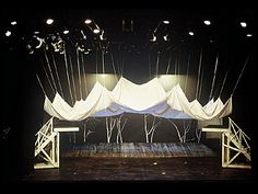 "Jaroslav Malina designed this set for a 1985 production of ""A Midsummer ..."