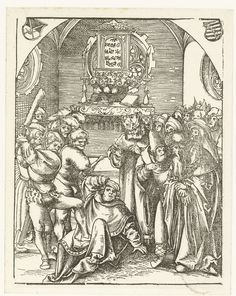 Fine Art Print-Martyrdom of St. Creator: Lucas Cranach (German, Fine Art Print on Paper made in the UK Fine Art Prints, Framed Prints, Poster Prints, Canvas Prints, St Judas, Lucas Cranach, Old Master, Illustrations And Posters, Antique Art