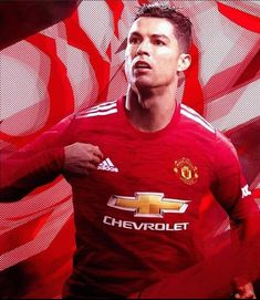 Cristiano Ronaldo 7, Man United, Manchester United, Chevrolet, Soccer, Football, Adidas, Mens Tops, Collection