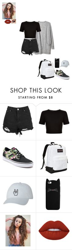 """""""arranged marriage"""" by gabby-1606 on Polyvore featuring Ted Baker, Vans, JanSport and Lime Crime"""