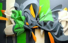 3d grafitti