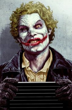 Absolute Joker cover by Lee Bermejo / DC / Comics Comic Book Artists, Comic Book Characters, Comic Character, Comic Books Art, Comic Art, Lee Bermejo, Der Joker, Joker Art, Joker Film