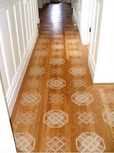 Painted floors with stencils - Google Search