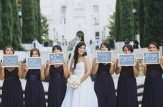 19 Bridal Party 'First Look' Photos That Capture Friendship At Its Sweetest I love this
