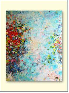 REDUCED PRICE- Fantasy- Original Acrylic Painting. $100.00, via Etsy.