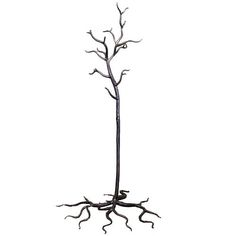 """An R.T. Facts original design, based off our Wrought Iron Tree Tables.  70""""h x 36""""l x 36""""d"""