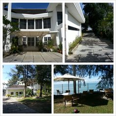 A luxurious villa on the seaside, the place we had most of our activities.  这座位于海边的豪华别墅,就是我们进行活动的地方。