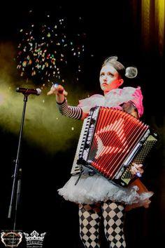 "Berlin Burlesque Festival 2013 - The Odd Night. Photography by Stecor fotografie. Miss Natasha Enquist - www.natashaenquist.com, ""Like"" on FB: www.facebook.com/MissNatashaEnquist. #accordion #wintergartenvariete #berlin #mickeymouse #missnatashaenquist #femaleaccordionist #confettie"