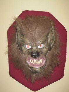 My werewolf head trophy build