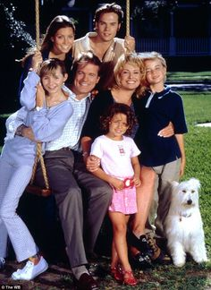 TV memories: Beverley in long running TV series Heaven, in which she starred alongside Jessica Biel (top left) 90s Tv Shows, Old Shows, Movies Showing, Movies And Tv Shows, Plus Tv, 7th Heaven, Family Tv, 90s Kids, Cultura Pop