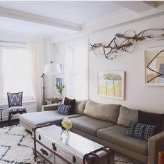 Living room #popoutnavypillows  #homepolish