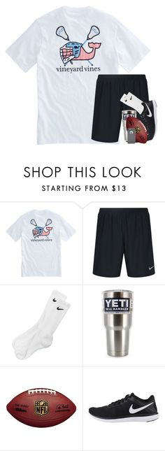 """""""football w/ friends! conleighs contest"""" by kate-elizabethh ❤ liked on Polyvore featuring Vineyard Vines, NIKE, OtterBox, men's fashion, menswear and conleighsboycontest"""