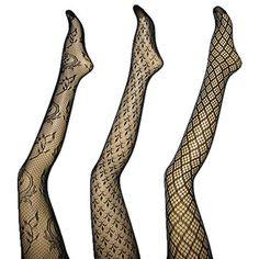 I love fishnets...all stockings really.